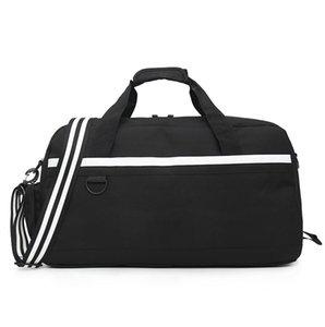 3 colori nero donne casuali di modo di borsa da viaggio uomini borsa di pallacanestro Borse di immagazzinaggio dei pattini di Oxford di sport esterni di borsa Maschio singola spalla Bag
