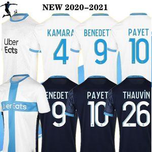 PAYET Thauvin camisa de futebol 120 anos NOVO 20/21 120º aniversário Olympique de Marseille 2020 2021 camisa de futebol OM jerseys maillot de pé