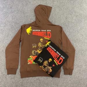 Hot 19 neue Art und Weise Frühlings-Herbst Travis Scott Astroworld Festival genießen heute ts Staff Puff Skateboard Hoodie Hoody Männer Frauen Hip Hop Drucken