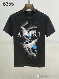Crime Fashion Men's Clothing Designer T-shirt 2019 Newborn Leisure Streetwear Brand T-shirt Rivet Crime Jacket Short Sleeve #x2