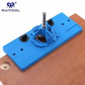 35 mm Goupille Jig Jig Concealed Hinge Boring Guide Drill Stop porte Cabinet Accessoires bois