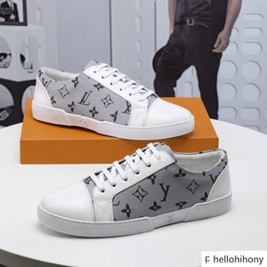 New hot sale Handmade men s shoes new European station leather upper flat shoes 38-45 factory direct free shipping