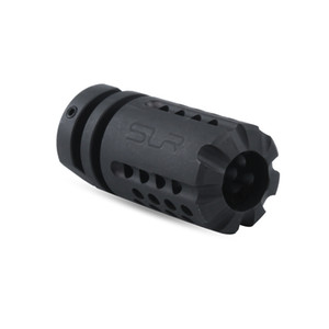 1 2 28 threads .223 SLR Muzzle Device M4 M16 AEG GBB Steel muzzle brake