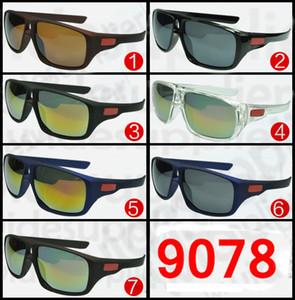 MARCA Nuevo Bicycle Glass HOMBRE gafas de sol deportivas para ciclismo pico gafas de sol Sports spectacl fashion dazzle color espejos Special 9078