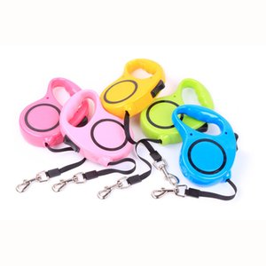 Pet Accessories Automatic Retractable Long Dog Leash for Dogs Roulette Nylon Traction Lead for Dogs Extending Walking Leads