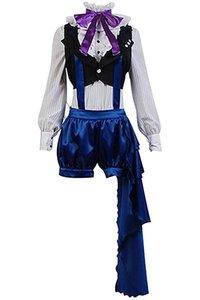 쿠로시 릿지 블랙 버틀러 3 Earl Ciel Phantomhive Uniform Dress 코스프레 의상