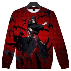 Japanese Anime Naruto Akatsuki 3D Hoodies Men Women Crewneck Sweatshirt Harajuku Streetwear Pullover Fleece Tracksuit Sudadera