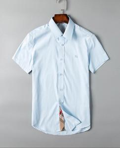 Chemise décontractée à manches courtes pour hommes, designer de marque, pour hommes - taille s-xxxl - livraison gratuite - Bienvenue à acheter