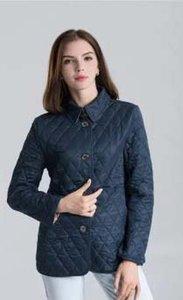 Sıcak Klasik!2020 kadın moda İngiltere kısa tarzı Ince pamuk yastıklı ceket / en kaliteli marka tasarım kadın ceketler M-XXXL
