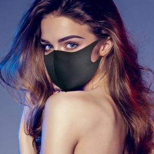 En stock! Adulte et enfant Visage Bouche PM2,5 Couverture Masque anti-poussière Anti-bactérien lavable réutilisable Ice Silk Cotton Outils Masques