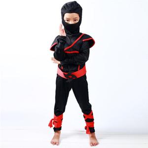 Niños Niños Niño Ninja Asesino Japonés Samurai Guerrero Disfraz Disfraz Nuevo