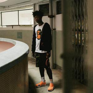 Diseñador de la camiseta de camuflaje Ape Head cinco barras para hombre del diseñador de la camiseta invicto mujeres de los hombres de Hip Hop Tees