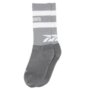 Kanye Vetements Reflective Socke Street Fashion Sports Bequeme Schöne socking Frühlings-Herbst-Winter-Breath Mid Schlauch-Socken