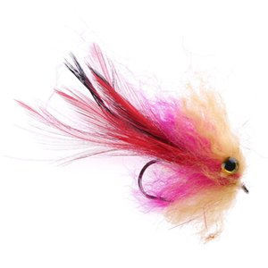 1pc 1g 10cm Trout Steelhead Salmon Pike Streamer Fly for Fly Fishing Tackle Artificial Lure Bait
