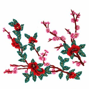 2019 new fashion DIY applique Water soluble embroidery costume decoration dimensional Colorful decals applique accessories