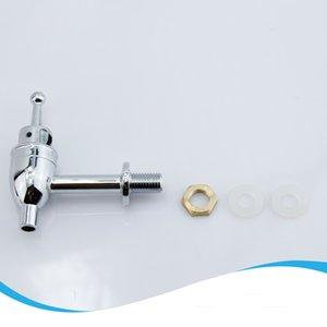 Высокое качество Пользовательские Дешевые стекла напитков дозатор с металлическим патрубком крана кран