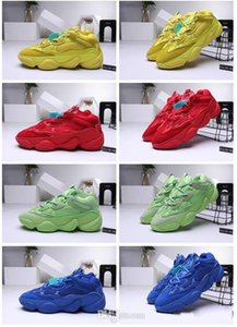 new released 500 Desert Rat gym shoes woman basketball shoe man printing technology 500 KANYE shoe ss