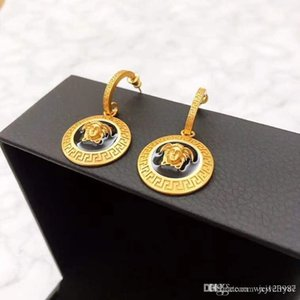 American hot style hot selling earrings luxury customization popular logo spring and summer fashion retro earrings