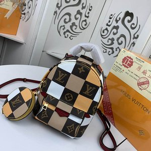 Dames en cuir de luxe sac à main Nouveau sac à dos hommes sac à main Mini épaule Messenger Bag Designer Wallet flip 41562