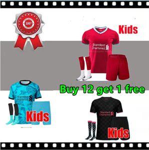 New Arrived LVP Mohamed M. SALAH FIRMINO Soccer Jersey Football Shirts 20 21 VIRGIL MANE KEITA 2020 2021 goalkeeper Kids kit uniforms