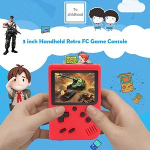 & Accessories Handheld Game Players Portable 3 Inch Screen Handheld Retro Consoles With 400 Games for FC Games for Kids