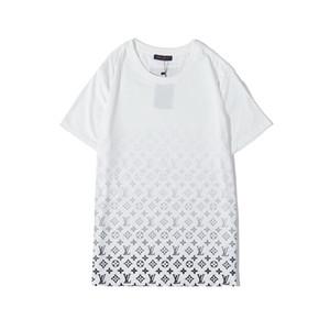 2019Fashion camisetas para hombres de algodón para hombre de la ropa camiseta de cuello redondo multimillonario hombre tops de verano de manga corta negro de la camisa blanca carta