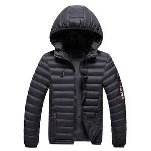 Men's Fashion Warm Parkas Coat Winter Men Hooded Casual High Quality Detachable Hat Parka Male New Arrival Parkas Overcoat
