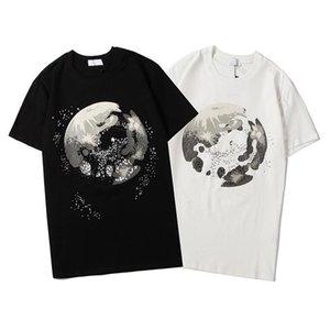 New Style Men's T-Shirts Luxury Designer Mens Print T Shirt Street Youth Man Fashion Street Loose Sport Tee Shirt