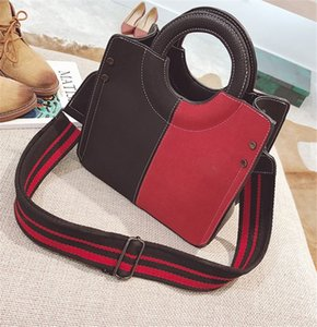 New Vintage Tote Bag Lady Stylish Frosted One Shoulder Bag Shopping Bags PH-CFY20061230