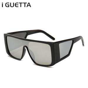 Occhiali da sole quadrati donne / uomini Vintage Big Box moderno stile di guida del driver Occhiali lunette de Soleil GH-082