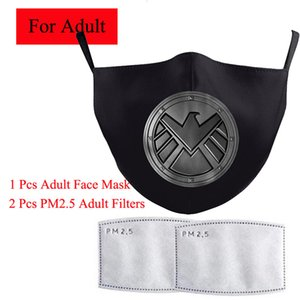 5pcs Hero cosplay masque concepteur Avenger super héros Party thème Costumes Coiffures Adult Costume Accessoires Halloween Marvel Super masque