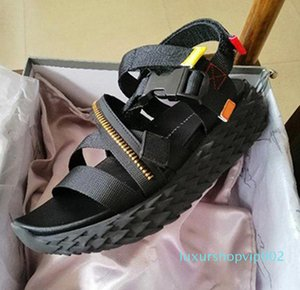 Hot Sale- Sandals Luxury Sports Sandals New Designer Summer Sandal Thick-Soled Rubber Mountaineering Travel Comfort Slippers Luxury Slipper