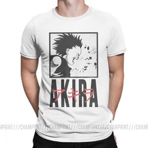 Мужская Akira T Manga Канэда Vaporwave японский Neo Tokyo Anime 100% хлопок Топы с коротким рукавом футболка Graphic Футболка MX200509