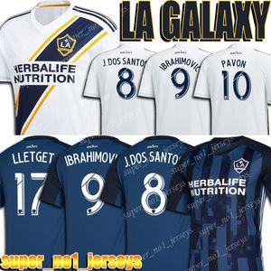 La Galaxy Soccer Jersey 14 Chicharito IBRAHIMOVIC Jersey GIOVANI Gömlek ALESSANDRINI Kiti Seti CORONA Futbol Formalar