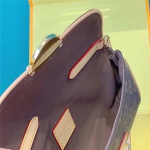top LV140 Leather classic fashion handbag card bag zero wallet men's and women's backpacks single shoulder bag LV140