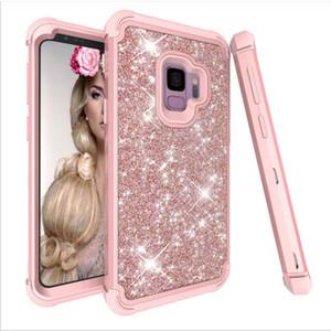 Sublimation cas de téléphone portable pour Samsung S8 la note de 10 s10 note 10 plus Quicksand bing bing cas