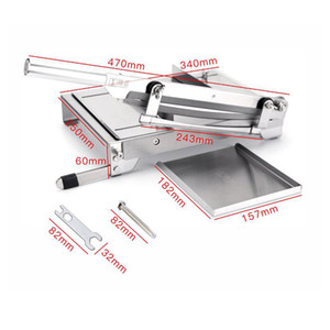 13.5 Inch Slicer Meat Slicer Chicken Duck Fish Lamb Meat Bone Cutting Machine Stainless Steel Commercial Household