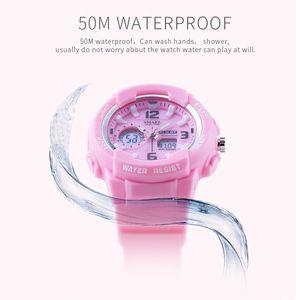 2020 SMAEL Детские цифровые часы мальчиков Часы Мужские Спортивные часы Водонепроницаемые Дети светодиодный дисплей relogio1643 Детские часы для девочек Digital