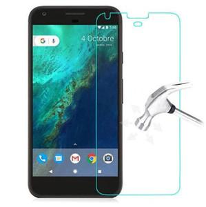 Vetro temperato premium per Google Pixel 2 3 XL Pixel 1 Pixel2 Pixel3 XL Nexus 6 6P Vetro temperato Protezione per schermo Pellicola protettiva