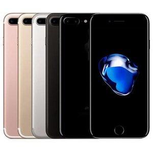 Rinnovato iPhone di Apple originale 7 Plus 5.5 pollici RAM impronte iOS A10 Quad Core 3GB 32/128 / 256GB ROM 12MP 4G LTE del telefono 5pcs DHL libero