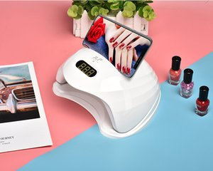 Compared with similar products UV led manicure lamp nail polish curing, used for UV gel nail polish nail art tools, mobile phone holder