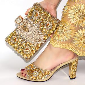 bom preço sapatos italianos e os sapatos de casamento Bag Set Africano e saco definir Itália calçados e bolsas Set Verão Mulheres !! JN1-13