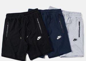 calças 2018 clássicos marca top de impressão tridimensional de alta estiramento calções sem costura zíper calças de jogging homens casual frete grátis