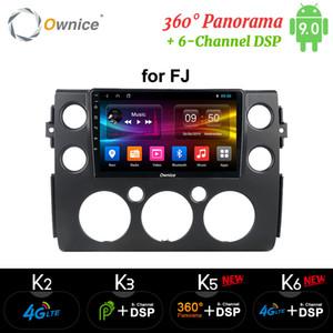 Ownice k3 K5 K6 Android 9.0 Octa de base pour Toyota FJ Cruiser 2006-2013 lecteur DVD de voiture Navi Radio 360 Panorama