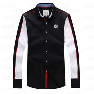 2019 Eden park Nouveau Chemise à manches longues pour les hommes de haute qualité de Nice Business Design style décontracté tissu de coton TAILLE M L XL XXL Livraison gratuite