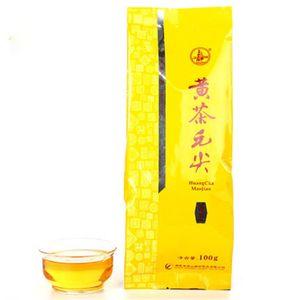 Премиум Июнь Шань Инь Чжэнь Желтый чай Huangcha Maojian Серебряная игла чай Новый Ароматизированный чай здоровый зеленый еды 100g