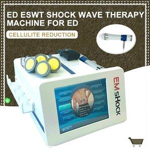 Vücut Ağrısı ED tedavisi Zimmer Radyal Shockwave Therapy için 2020 Profesyonel Mobil Shockwave Satış Masaj Makinesi Odaklı