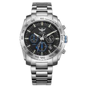 New Arrive YELANG V1210 Eco-Drive Movement T100 Tritium Luminous Steel Strap Sapphire Mirror Men Business Watch Wristwatch T200409