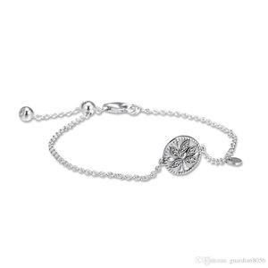 2019 Silver Tree Day 925 prata esterlina jóias da mãe da VIDA pulseira Jóias Fits Pandora pulseiras para as mulheres