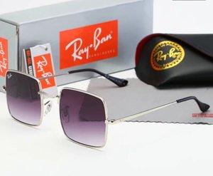 ncvnfghd nnngghet 2019 gafas de sol piloto clásico de alta calidad marca de diseñador para mujer para hombre gafas de sol gafas lentes de vidrio de metal1885
